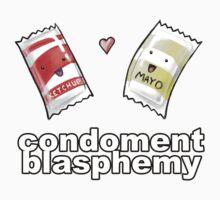Condoment Blasphemy T-Shirt