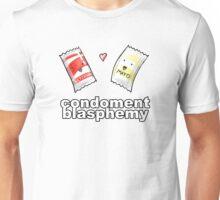 Condoment Blasphemy Unisex T-Shirt