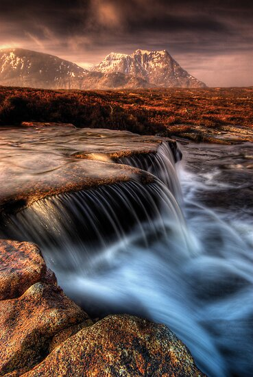 'The Cauldron' Glencoe by David Mould