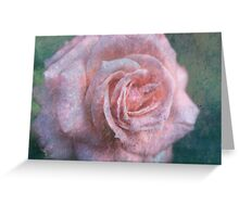 Vintage Rosa  - JUSTART © Greeting Card