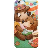 Birthday Bear  iPhone Case/Skin