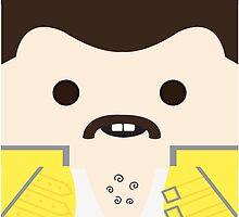 Freddie Mercury by telahmarie