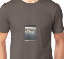 Sun Rays Peeping through the Clouds Unisex T-Shirt
