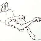 Falling Nude by Mark Ramstead