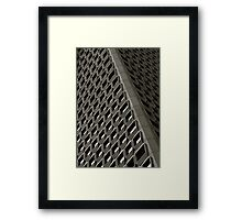 Patterns on the Rise Framed Print