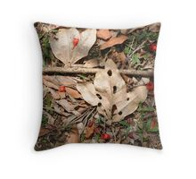 Nature's Composition Throw Pillow
