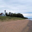 Point Iroquois Lighthouse by Megan Noble