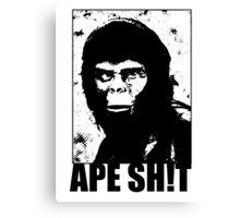 Ape Sh!t Canvas Print