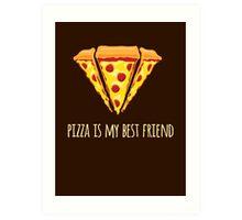 Diamond Pizza Art Print