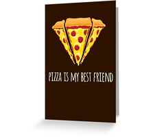 Diamond Pizza Greeting Card
