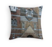 Grafton Courthouse West Virgiinia Throw Pillow