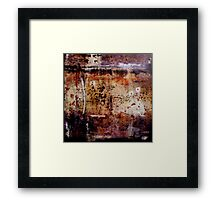 Approach With Caution Framed Print