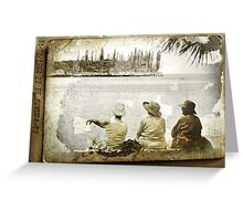 Faded Memories Greeting Card
