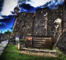 Paseo del Morro, Old San Juan, Puerto Rico by Aurelio Torres