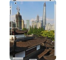 Over the Roofs of the Old City - Shanghai iPad Case/Skin