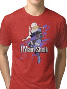 I Main Sheik - Super Smash Bros. Tri-blend T-Shirt