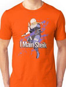I Main Sheik - Super Smash Bros. Unisex T-Shirt