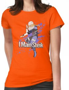 I Main Sheik - Super Smash Bros. Womens Fitted T-Shirt