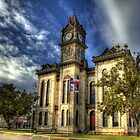 Bosque County Courthouse by Terence Russell