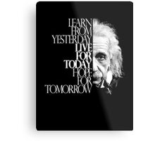 Live for Today 2 Metal Print