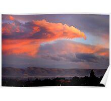Phenix over Yakima Poster