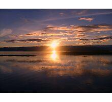 Mirrored Sunset Photographic Print