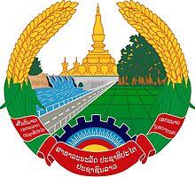 Laos National Emblem  by abbeyz71