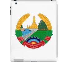 Laos National Emblem  iPad Case/Skin