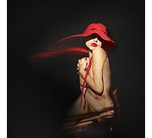 RED Photographic Print