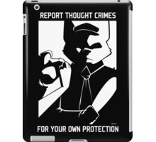 Report Thought Crimes iPad Case/Skin