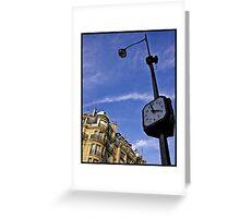 L'heure (Art Card) Greeting Card