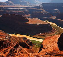 Colorado River Gooseneck by Olga Zvereva