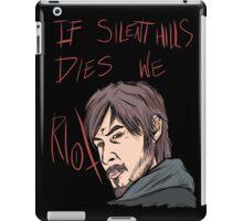 silent hills  riot iPad Case/Skin
