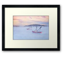 Soon As The Morning Comes Framed Print