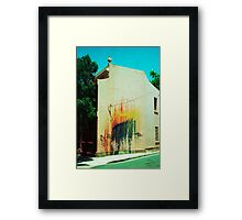 graf house Framed Print