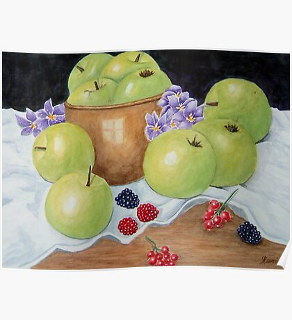 Apples and Berries  Poster
