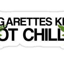 Pot Chills Sticker