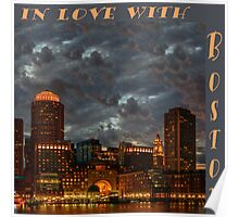 In love with Boston! Poster