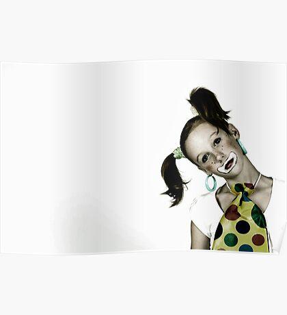 Portrait of Meg Poster