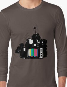 Old TV Long Sleeve T-Shirt
