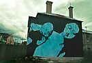 Madonna and child mural Newtown by Juilee  Pryor