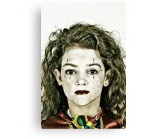 Portrait of Zoe Canvas Print