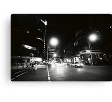 EDWARD & CHARLOTTE STREETS, 0315AM Canvas Print