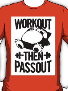 Pokemon Workout Shirt T-Shirt
