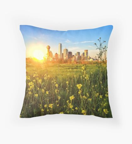 Dallas / Oz Throw Pillow