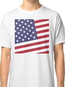 American Flag July 4th Party Classic T-Shirt