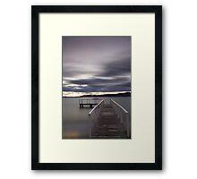 Lake Taupo Trance Framed Print