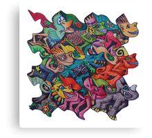 Tesselromp Canvas Print