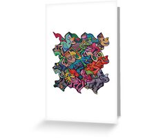 Tesselromp Greeting Card