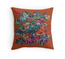 Tesselromp Throw Pillow